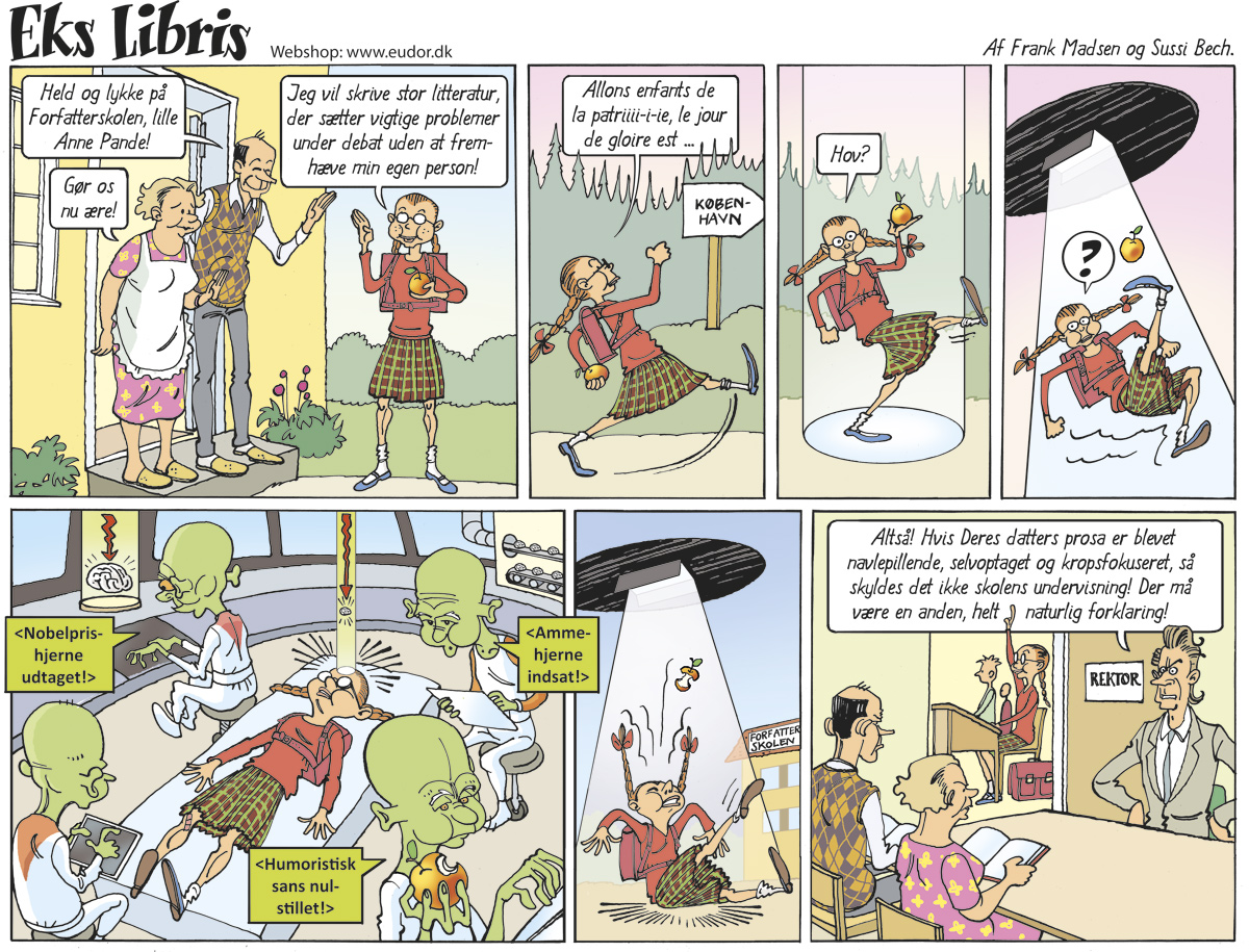 Tegneserier - kontakt Frank Madsen Studio