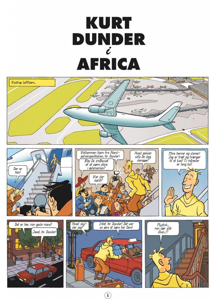 Kurt Dunder i Afrika side 1