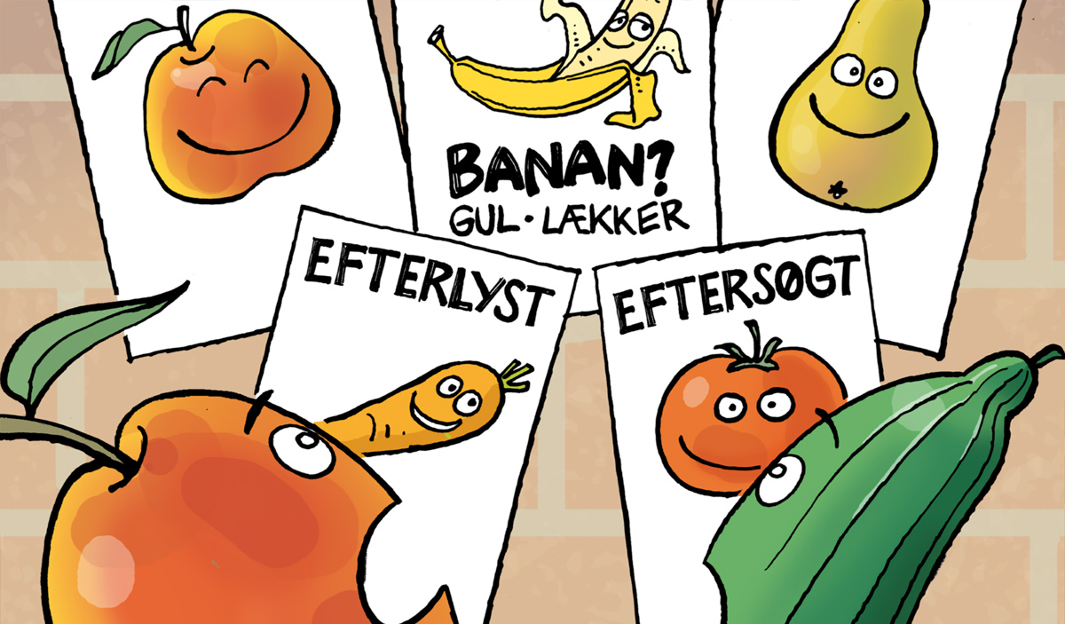 Tegneserier om Agurk & Æble
