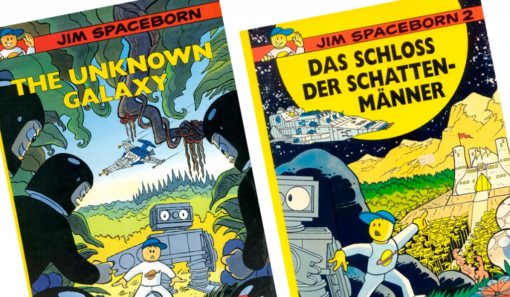 LEGO-tegneserie: Jim Spaceborn