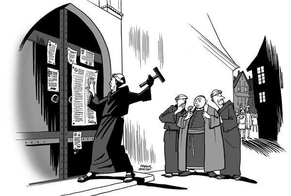 Tro møder tro: Luther