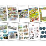 Portfolio med arbejdsprøver fra tegnestuen