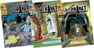 tekst og tegning - bøger gustav og raketbroderskabet
