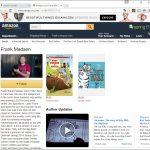 Min forfatterside på Amazon
