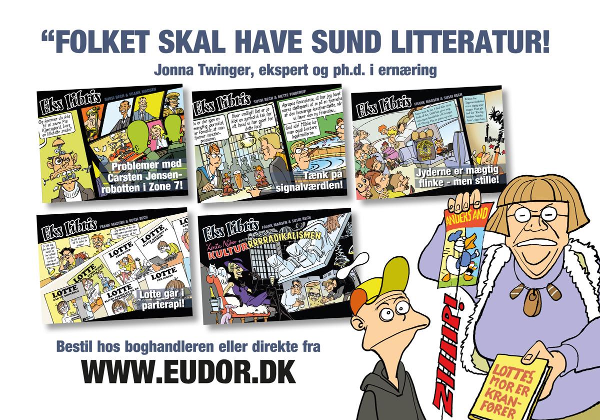 Eks Libris 6: I bogen optræder også litteratureksperten Jonna Twinger.