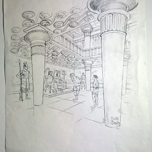 Knossos, Minos, Kreta af Sussi Bech