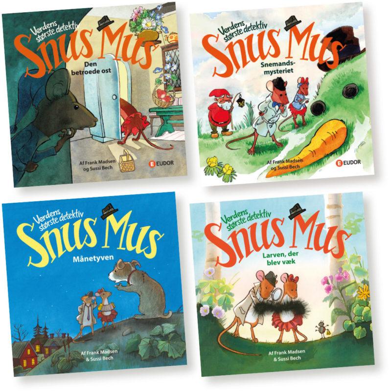 To nye billedbøger med Snus Mus