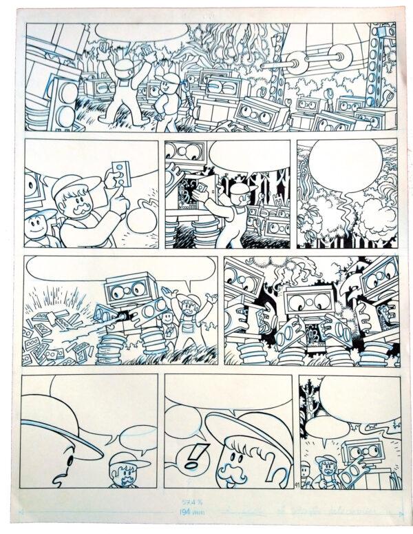 LEGO comic Jim Spaceborn The unknown Galaxy