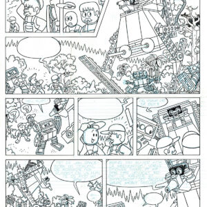 LEGO Jim Spaceborn comic comics